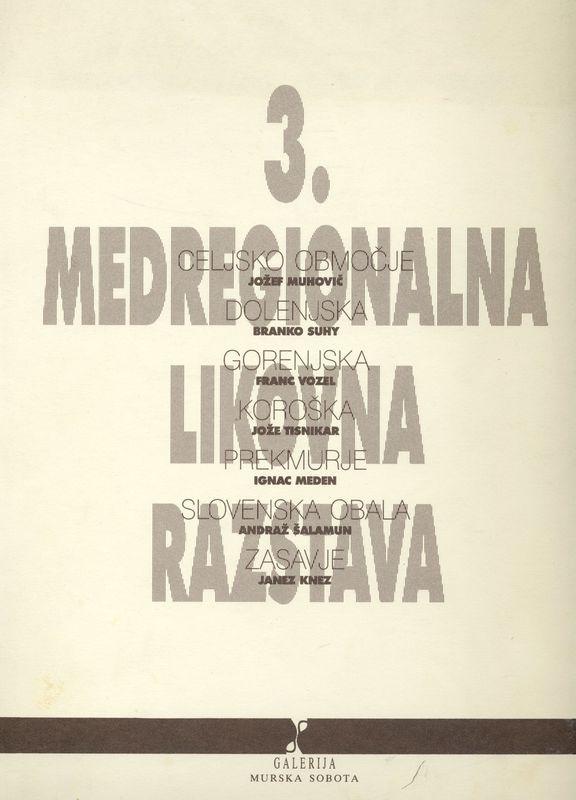 3. medregionalna likovna razstava