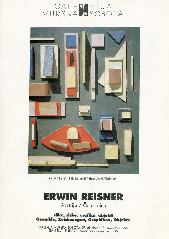 Erwin Reisner. Slike, risbe, grafike, objekti