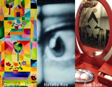 Fontana - Kos - Žula: tri samostojne razstave
